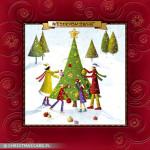 Kartki świąteczne tłoczone – Wzór BN 01.04