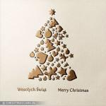 Kartki świąteczne tłoczone – Wzór BN 01.05