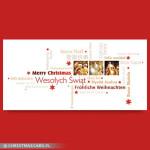 Kartki świąteczne zdjęciowe – Wzór BN 02.01