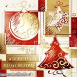 Kartki świąteczne złocone – Wzór BN 03.02