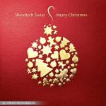 Kartki świąteczne złocone – Wzór BN 03.03