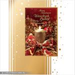 Kartki świąteczne złocone – Wzór BN 03.06